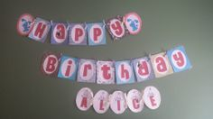 Blue's Clues happy birthday banner