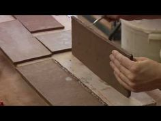 Clay Pottery Slab Building : Scoring Clay Vase Walls Together- Part 2
