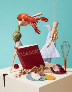 Larousse - ELLE Eten on Behance