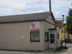 THE CHEF DINER in Richfield Springs, New York - Way better than it looks