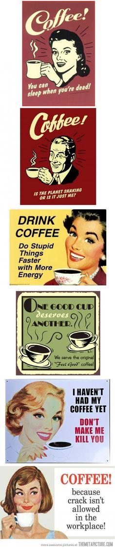 Coffee! [quality over quantity]