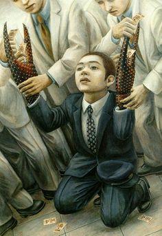 #Tetsuya  Ishida  #Japanese artist.