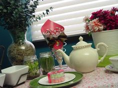 Tea Party Baby Shower Ideas!    #butterfly #teaparty