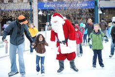 Santa Skates Cincinnati, OH #Kids #Events