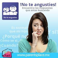 ¡No te angusties! ve a www.parentsplace.com.mx Parents, Tips, Dads, Raising Kids, Parenting Humor, Parenting, Counseling