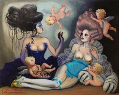 BetweenMirrors.com   Alt Art Gallery: The Art of Jel Ena
