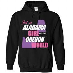 Just an Alabama Girl in an Oregon World - #dress shirts #funny t shirts for men…