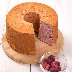 ラズベリーシフォンケーキ | レシピ| お菓子作り・パン作りの材料と道具の専門店 | cuocaクオカ