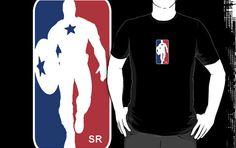 Captain America NBA Tee