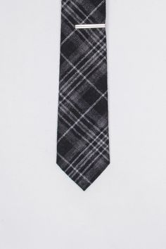 Burma Bibas Plaid Tie With Tie Bar $12.99