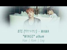 BTS (방탄소년단) - MAMA [Lyrics Han|Rom|Eng] - YouTube - Love the beat and the message <3 Hobie