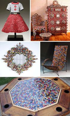 Bottle Caps: 31 Reasons To Create Gorgeous Recycled Crafts