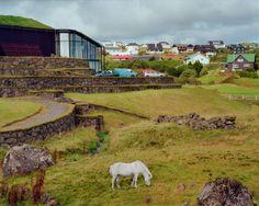 Untitled (Legoland with Horse), Tórshavn, Faroe Islands, by Cydney Puro | 20x200