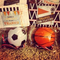 Boy, Sports Birthday Party Ideas | Photo 2 of 5 | Catch My Party