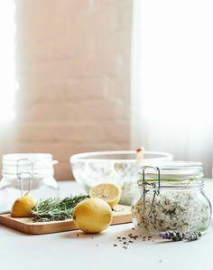 Rosemary Lemon Lavender Scrub on Plant Power Journal.
