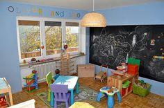 chalkboard wall playroom - חיפוש ב-Google