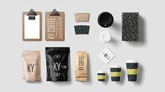 KY COFFEE ( VOLGOGRAD COFFEE BRANDING ) on Behance