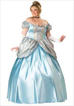 Enchanting Princess Elite Plus Size Adult Halloween Costume