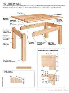 Porch Swing Plans – Porch and Roof Woodworking Furniture Plans, Woodworking Projects Diy, Teds Woodworking, Diy Esstisch, Wood Patio Furniture, Diy Dining Table, Wood Joints, Wood Pallets, Planer
