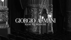 """Giorgio Armani's, 2016 """"Made To Measure"""" Ad Campaign -  featuring the Mu..."""