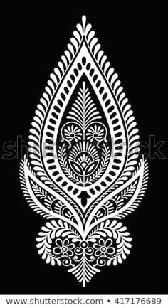 Find Traditional Indian Motif stock images in HD and millions of other royalty-free stock photos, illustrations and vectors in the Shutterstock collection. Thousands of new, high-quality pictures added every day. Textile Pattern Design, Textile Patterns, Pattern Art, Border Embroidery Designs, Embroidery Motifs, Stencil Patterns, Stencil Designs, Mehndi Art Designs, Rangoli Designs