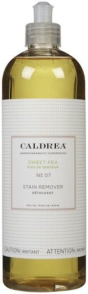Caldrea's stain remover may be sweet (pea), but that doesn't mean it's not tough enough to take out those icky stains your mischievous, four...
