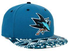 best service c81f6 68729 San Jose Sharks New Era NHL Cross Colors 9FIFTY Snapback Cap Hats San Jose  Sharks Hat
