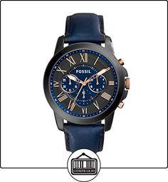 Fossil Grant - Reloj de pulsera de  ✿ Relojes para hombre - (Gama media/alta) ✿