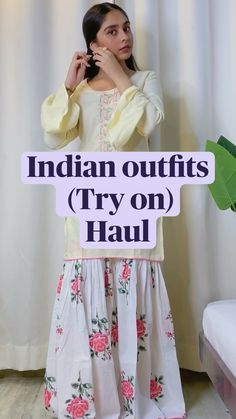 Casual Indian Fashion, Indian Fashion Dresses, Indian Designer Outfits, Stylish Dresses For Girls, Stylish Outfits, Pakistani Outfits, Indian Outfits, Bicycle Cake, Dhokla Recipe