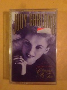 Judy Garland Changing My Tune Cassette Brand New Sealed pop