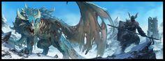 ArtStation - Zombie Dragonslayer, Yann Blomquist