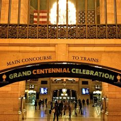 Grand Centennial Celebration @Grand Central Terminal #GCT100 - @Jeffrey P