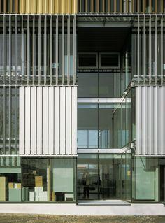 Logistic center A1 / Dietmar Feichtinger Architectes