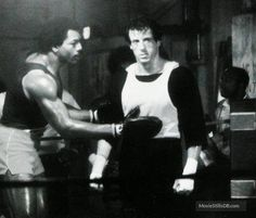 Rocky III - Publicity still of Sylvester Stallone & Carl Weathers. The image measures 1200 * 1023 pixels and was added on 13 March Rocky Series, Rocky Film, Rocky Stallone, Stallone Movies, Talia Shire, Silvester Stallone, Carl Weathers, Rocky Balboa, Le Chef