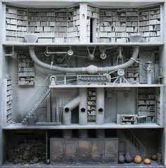 Les Boites - miniature houses by Marc Giai-Miniet