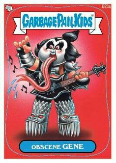 Garbage Pail Kids Obscene Gene