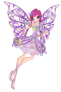 Winx club - Tecna butterflix ! by BloomixCouture