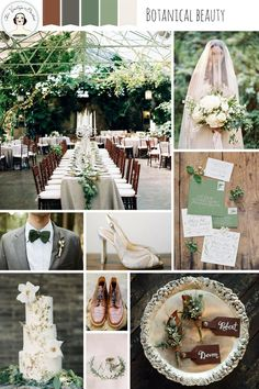 Brimming with botanical beauty today's wedding inspiration board is elegant in its simplicity and perfect for an outdoor celebration whatever the season.