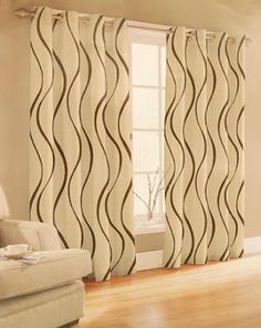 Curtains Design: How to Design Contemporary Curtains Contemporary Windows, Contemporary Curtains, Modern Curtains, Contemporary Furniture, Curtain Styles, Curtain Designs, Fancy Curtains, Window Curtains, Modern Window Treatments