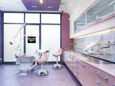 Consultrio moderno da Barbie dentista