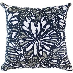Butterfly Navy Lounge Cushion (£125) ❤ liked on Polyvore featuring home, home decor, throw pillows, patterned throw pillows, navy blue accent pillows, textured throw pillows, butterfly home decor and navy blue throw pillows