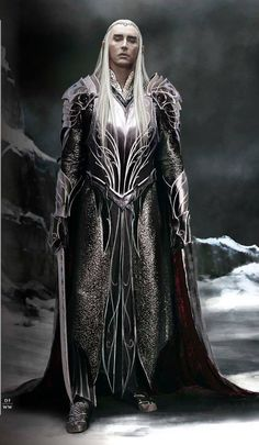 Thranduil battle armor concept final