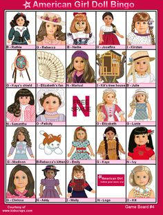 American girl doll games for free