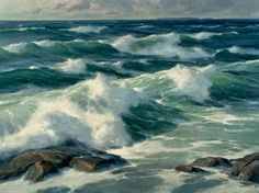 Donald Demers, Wind Driven 36x48 - oil on linen