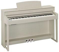YAMAHA Piano numérique 88 touches en ivoire de synthèse avec mécanisme d'échappement, clavier en bois naturel, modèle qui dispose de 2 haut-parleurs 2 voies et de 20 rythmes variés en plus des modes dual et split, enregistrement 16 pistes, 34 sons et sons CFX et Bösendorfer...Petit plus exclusif YAMAHA : Stereophonic Optimizer, permet d'avoir le son du piano qui semble provenir du corps de l'instrument et non pas de chaque côté casque. Modèle de coloris frêne clair.