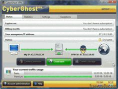 Encrypt Internet Usage with CyberGhost – Free VPN service