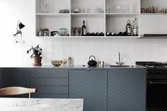 Cupboards in grey. By Fantastic Frank.
