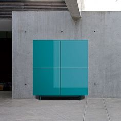 Turquoise, exclusive design and materials for 'Damon' sideboard by Dall'Agnese