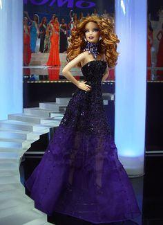 ๑Miss Oregon 2013' Barbie