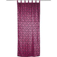 Curtain Royal Pink 105x250cm by KARE Design #curtain #royal #pink #velvet #girl #girlstuff #KARE #KAREDesign